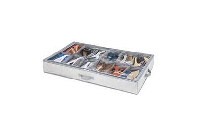 Housse De Rangement Idesign Interdesign Housse De Rangement Pour Chaussures 12 Cases Darty