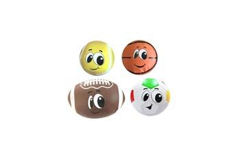 Aire de jeux STAMP Stamp pack 4 balles en mousse