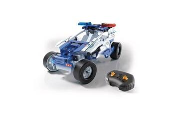 Véhicules miniatures CLEMENTONI Vehicule a construire - engin terrestre a construire mon atelier de mécanique - voiture de police radiocommandée