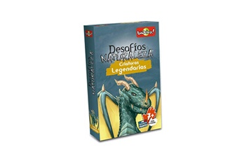 Jeux de cartes Bioviva Bioviva - bioviva jeu cartes desafios de la nature créatures legendarias-español