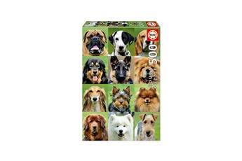 Puzzles Educa Borras Educa borras - collage de chiens 500pcs puzzle