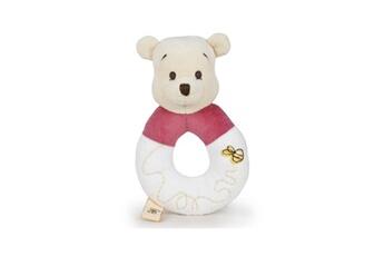 Doudou Disney Disney - disney bebe winnie the pooh soft peluche rattle