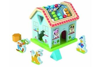 Eveil & doudou bio Disney Maisonnette cubes bois 8 pieces