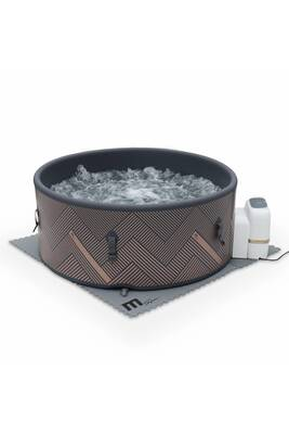Spa Gonflable Alice S Garden Spa Mspa Gonflable Rond Mono 6 Gris