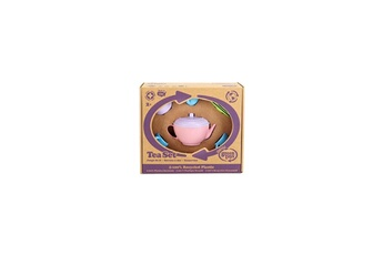 Jeux d'imitation GREEN TOYS Service a the theiere rose