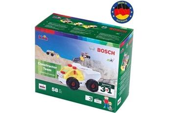 Véhicules miniatures Marque Generique Vehicule a construire - engin terrestre a construire - set de construction constructor team 3 en 1