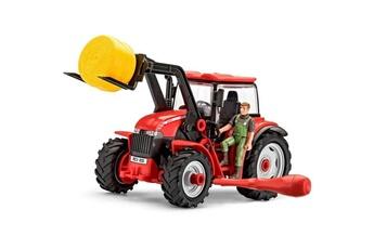 Véhicules miniatures REVELL Icaverne vehicule a construire - engin terrestre a construire junior kit tracteur avec godet et figurine 00815