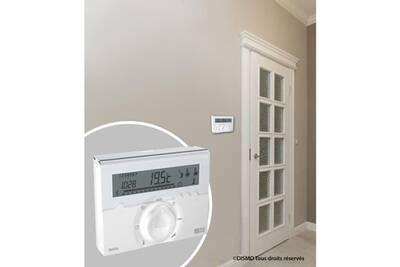 Thermostat et programmateur de chauffage Marque Generique Thermostat d'ambiance programmateur fil pilote deltia 8.31 3 zones