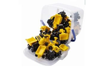 Véhicule électrique Viking Toys Icaverne voiture electrique baril 20 véhicules chubbies construction - 7 cm