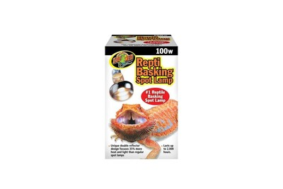 Chauffage et anti-glace Zoo Med Lampes reptile basking spot 100w - zoo med