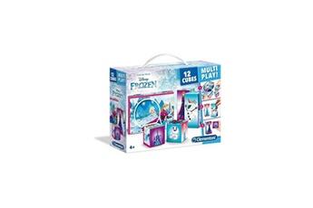 Arche d'éveil CLEMENTONI Clementoni - puzzle 12 cubes multiplay - la reine des neiges