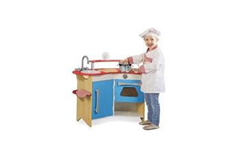 Jeux d'imitation MELISSA & DOUG Melissa & doug coin du cuisinier - cuisine en bois