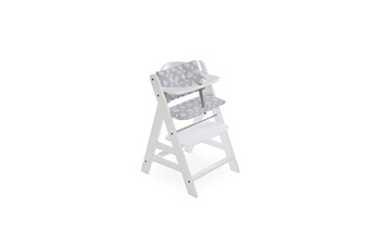 Chaise haute Hauck Hauck - coussin de chaise haute deluxe tedy grey
