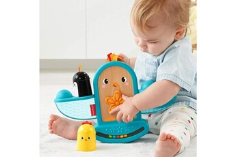 Spirale d'activité Marque Generique Table activite - jouet d'activite fisher-price mon oiseau bascule a empiler - gjw26 - jouet d'?veil - 6 mois et +