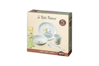 Vaisselle bébé Petit Jour Paris Coffret cadeau vaisselle - 5 pièces blanc le petit prince