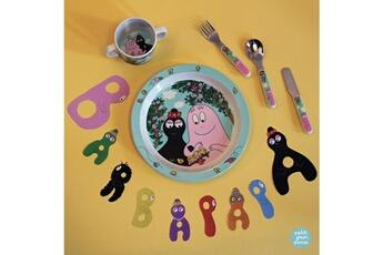 Vaisselle bébé Petit Jour Paris Vaisselle enfant, en route vers l'autonomie avec barbapapa
