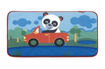 Tapis enfant Fisher Price Fisher-price polaire polaire panda polaire 75 x 45 cm multicolore