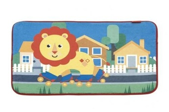 Tapis enfant Fisher Price Fisher-price polaire polaire lion polaire 75 x 45 cm multicolore