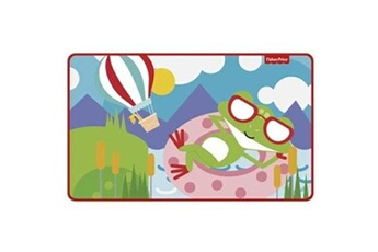Tapis enfant Fisher Price Fisher-price tapis polaire grenouille 75 x 45 cm multicolore
