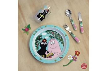 Vaisselle bébé Petit Jour Paris Vaisselle enfant, je mange comme les grands avec barbapapa