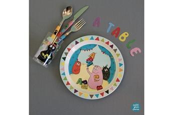 Vaisselle bébé Petit Jour Paris Vaisselle enfant, je mange tout seul avec barbapapa