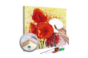 Peinture et dessin Artgeist Tableau à peindre par soi-même - coquelicots modernes