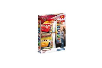 Autres jeux créatifs CLEMENTONI Cars puzzle toise 30 pieces - puzzle pour mesurer votre enfant