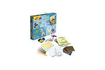 Autres jeux créatifs Joustra Joustra - créabox aventurier - un coffret créatif des petits aventuriers avec plein d'activités !