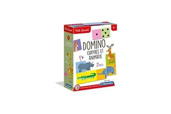Jeux ludo éducatifs CLEMENTONI Clementoni petit savant - domino chiffres et animaux - 4 ans et +