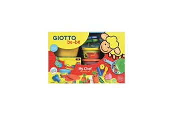 Jeux d'imitation GIOTTO Giotto be-be kit de modelage my chef - 20 pieces
