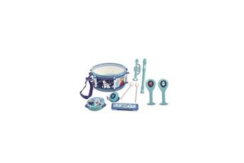 Jouets éducatifs Lexibook La reine des neiges - set de 7 instruments de musique - tambour, maracas, castagnette, harmonica, flûte, trompette & tambourin