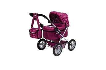 Accessoire poussette Bayer Design Bayer trendy landau pour poupée rose