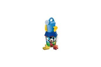 Bac à sable MONDO Mickey- seau garni complet - 17 cm - accessoires de plage - garçon - a partir de 3 ans