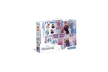 Jeux en famille CLEMENTONI Clementoni edukit 4 en 1 - la reine des neiges 2 - mémo, domino, puzzle et cubes