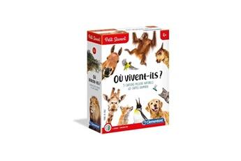 Jeux ludo éducatifs CLEMENTONI Clementoni petit savant - où vivent-ils ? - 4 ans et +