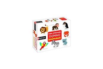 Jeux ludo éducatifs Diset Nathan - mon premier domino animaux