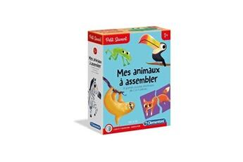 Jeux ludo éducatifs CLEMENTONI Clementoni petit savant - mes animaux a assembler - 2 ans et +