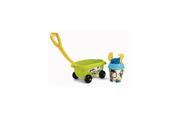 Bac à sable SMOBY Toy story smoby chariot de plage garni