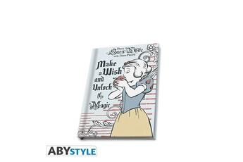 Tout pour la fête Abysse Corp Cahier a6 - blanche-neige - carnet make a wish and unlock the magic
