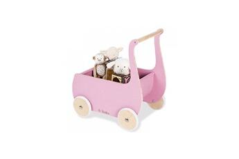 Accessoires de poupées Pinolino Pinolino mette poussette de poupee rose
