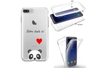 Coque Iphone 11 integrale bouddha blanc personnalisee