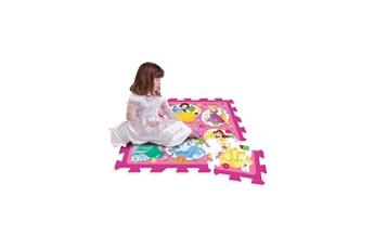 Jouets éducatifs STAMP Disney princesses tapis puzzle mousse 9 pieces avec sacoche