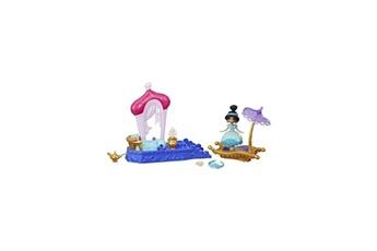 Poupées Disney / Princess Disney princesses - jasmine - mini-poupée mouv magique 10cm + 1 véhicule