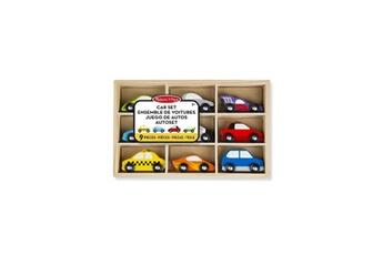 Véhicules miniatures MELISSA & DOUG Melissa & doug ensemble de voitures en bois