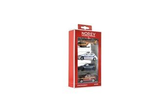 Véhicules miniatures Norev Norev assortiment de 4 voitures miniatures d'urgence