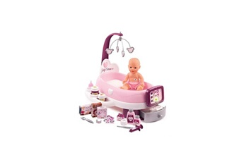 Poupées SMOBY Smoby baby nurse nursery electronique + poupon pipi - 24 accessoires