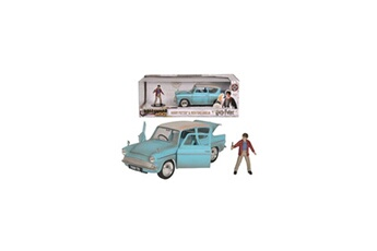 Véhicules miniatures Diamond Football Company Majorette harry potter ford anglia 1959 + figurine - 1/24eme