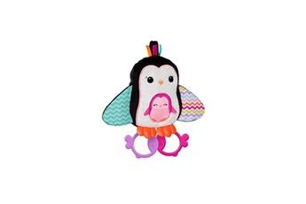 Boite à musique BRIGHT STARTS Bright starts peluche cuddle & teethe penguins multicolore