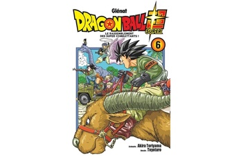 Figurine Hachette Livre Rattachement Manga - dragon ball super - tome 06