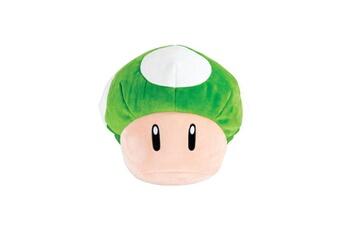 Peluches Tomy Mario kart - peluche mocchi-mocchi 1-up mushroom 36 cm